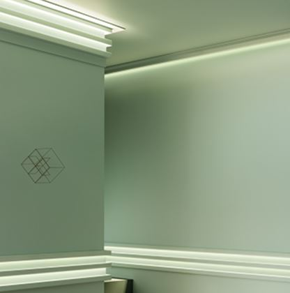 c351 boat lighting coving. Combine It With The Other L3 Profiles (C380, C381, C382) And Create A Sophisticated Linear Pattern Of Light Shadow. C351 Boat Lighting Coving