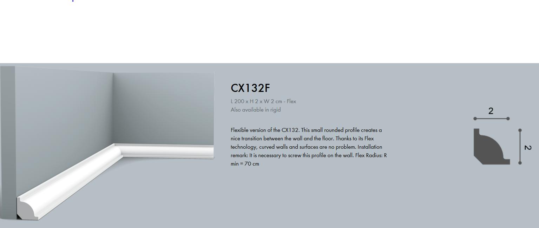 Archiprofiles www.archiprofiles.com.au CX132 Flexible