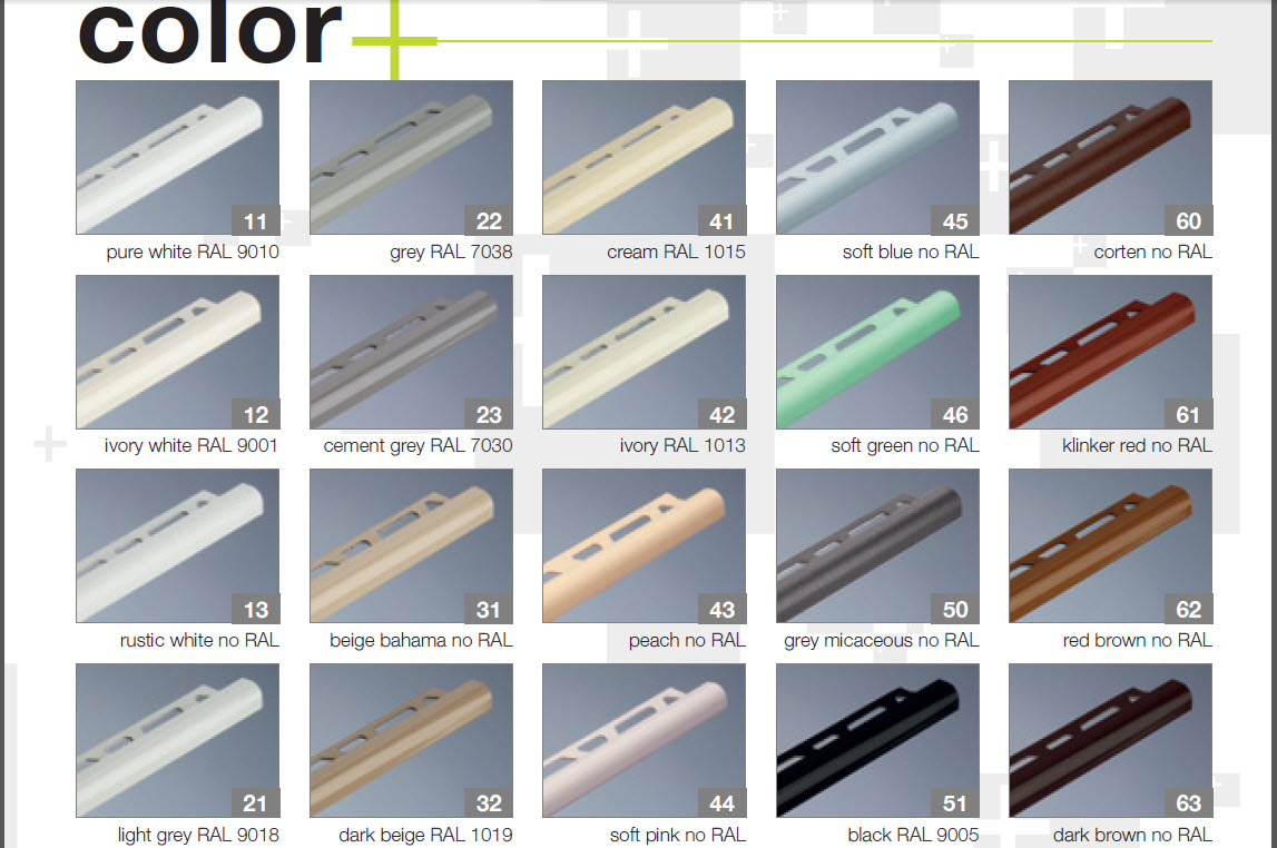 Archiprofiles European Aluminium Skirting