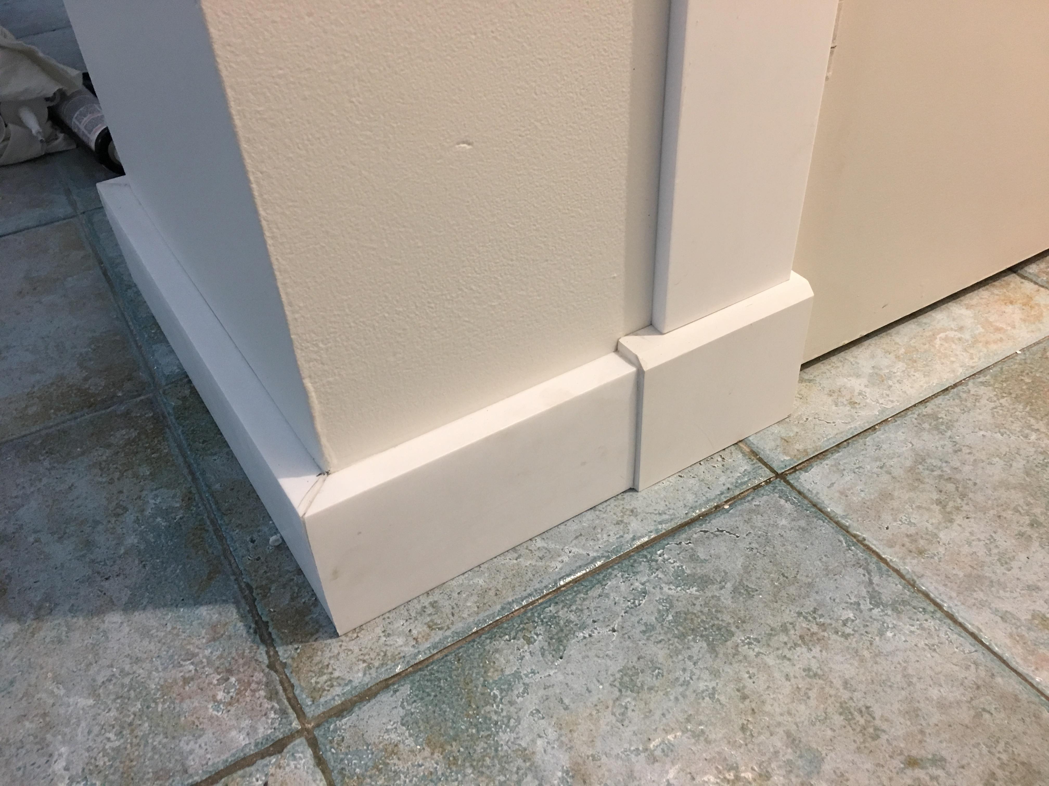 Block Board Waterproof ~ Waterproof skirting shower bathroom