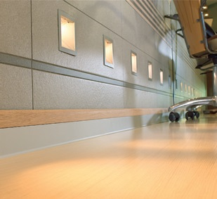 Archiprofiles - Aluminium technical skirtings - Designed to provide